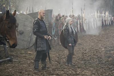 Vikings Season 5 Katheryn Winnick Alexander Ludwig Image 1