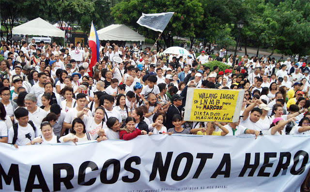ferdinand marcos philippines pinoy burial hero issue