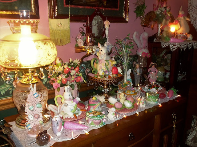 I Hope You Enjoyed Seeing How Decorated The Dining Room Buffet For Easter This Year