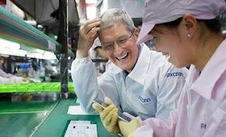 produksi iphone