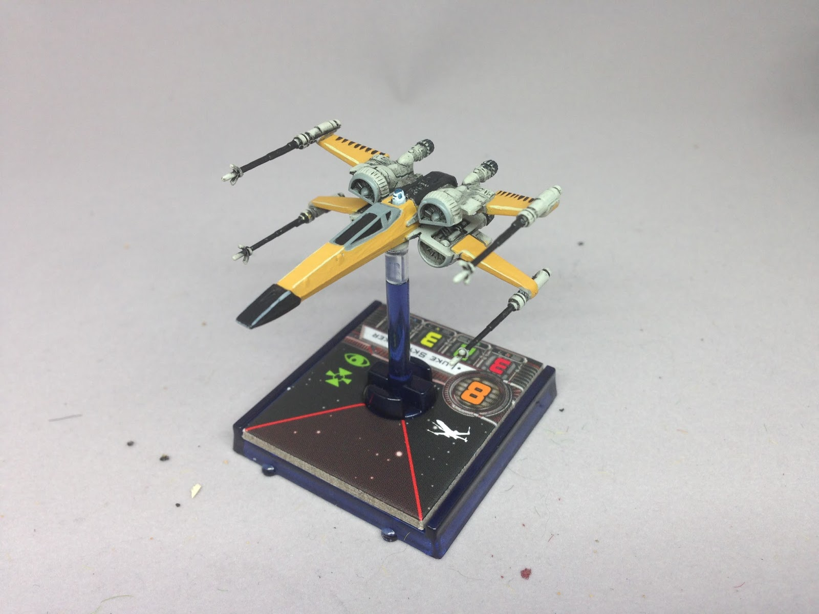 Kris Wall Minis Star Wars X Wing Repaint