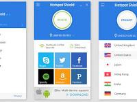 Cara Menggunakan Hotspot Shield untuk Internet Gratis di Android