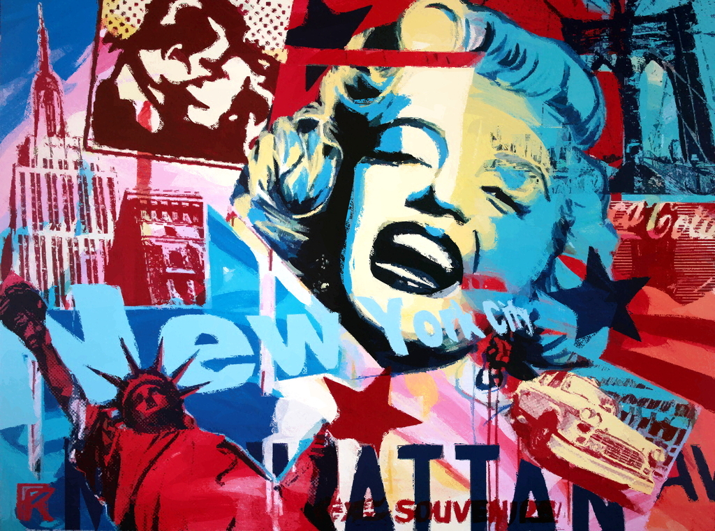 Wallpapers Photo Art: Pop Art Wallpaper