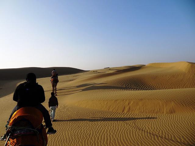 Sam Sand Dunes  - Jaisalmer, Rajasthan - Pick, Pack, Go
