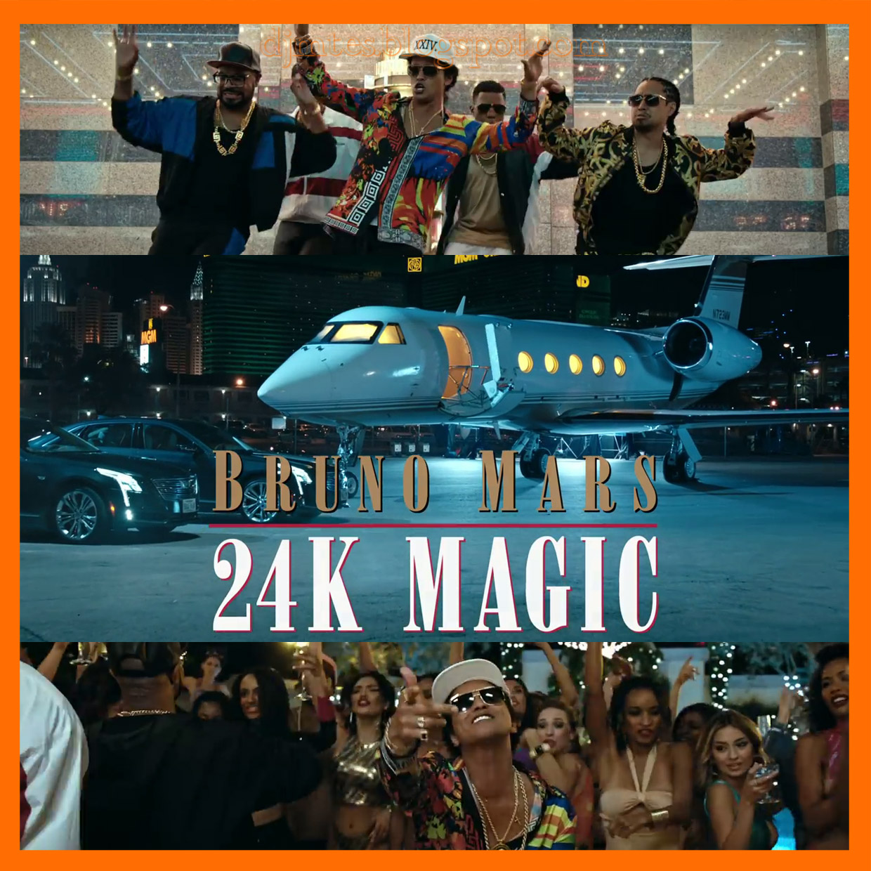 Guci Ft Bruno Mass Mp3: Bruno Mars - 24K Magic(Official Video)