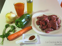 Carne Guisada, de ternera