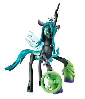 Queen Chrysalis & Spike