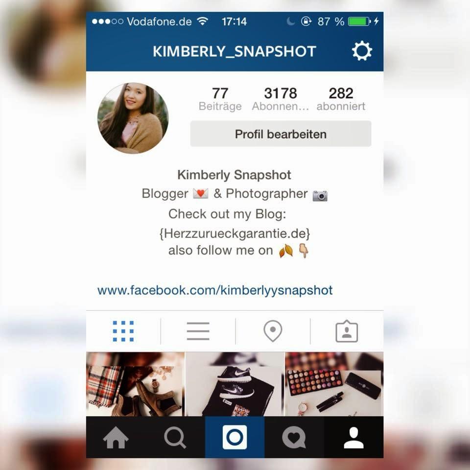 Herzzurueckgarantie Wie Zentriere Ich Meine Biographie Auf Instagram