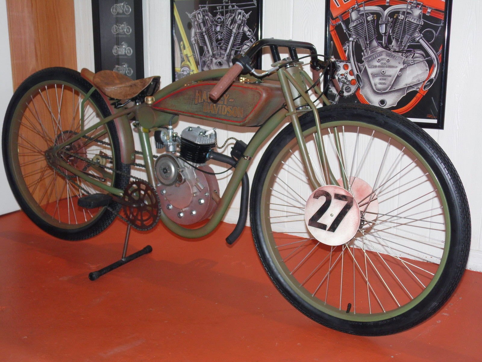 Fast Is Fast 1927 Harley Davidson Board Track Racer