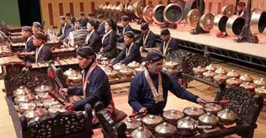Alat Musik (Ricikan) Bonang Karawitan Jawa