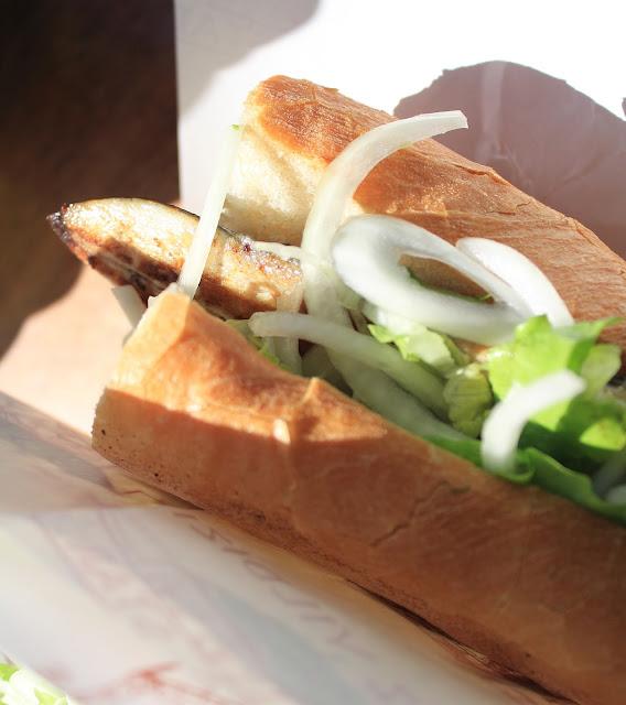 Istanbul fish sandwich