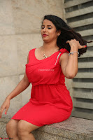 Shravya Reddy in Short Tight Red Dress Spicy Pics ~  Exclusive Pics 091.JPG