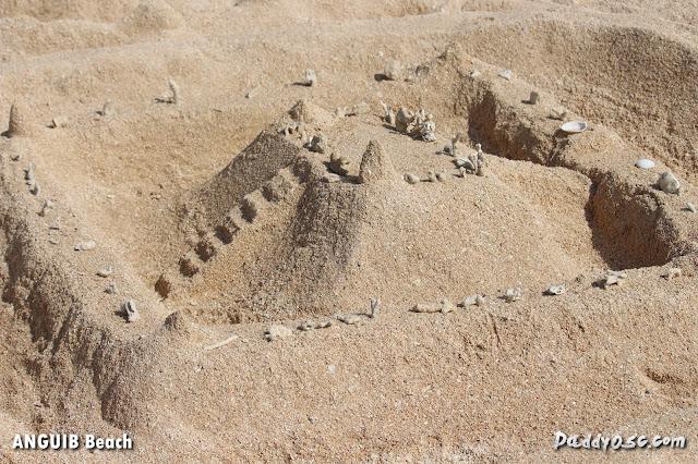 sand castle at Anguib Beach, Sta. Ana Cagayan