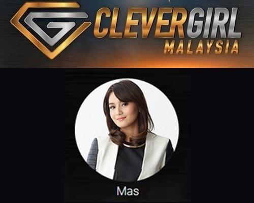 Biodata Mas Clever Girl Malaysia 2017, profile Mas, biografi, profil dan latar belakang Mas Clever Girl Malaysia TV3 2017 musim 2, foto, gambar Mas Clever Girl Malaysia musim kedua