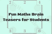 Fun Maths Brain Teasers for Students with Answers
