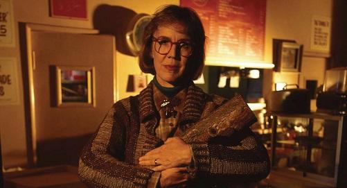 Mujer del Leño (Catherine Coulson) en Twin Peaks