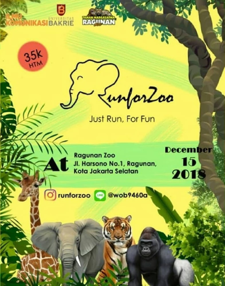 Run For Zoo • 2018