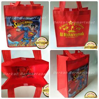 tas ultah anak superman