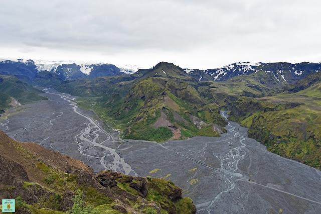 Valahnúkur en Thorsmork, Islandia
