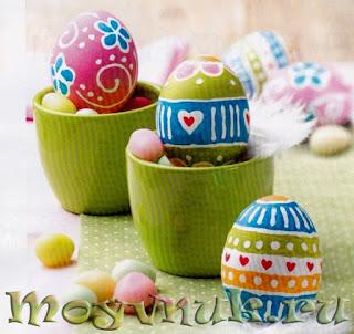 Необычные пасхальные яйца, фото