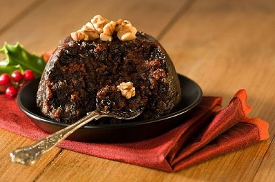 Excellent plum pudding from Pud For All Seasons