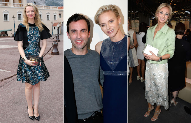 Monaco Royal Family attended the Louis Vuitton Cruise Line Show