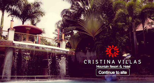 how to go to cristina villas mountain resort