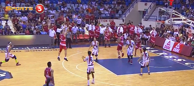 JC Intal's CLUTCH Three vs San Miguel (VIDEO)