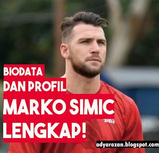 nama pemain sepakbola asal kroasia ini acap kali menjadi perbincangan pecinta bola tanah  Biodata dan Perjalanan Karir Marko Simic