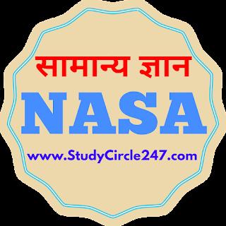 GK MCQ - 01 | नासा से संबंधित सामान्य ज्ञान | NASA - National Aeronautics And Space Administration.