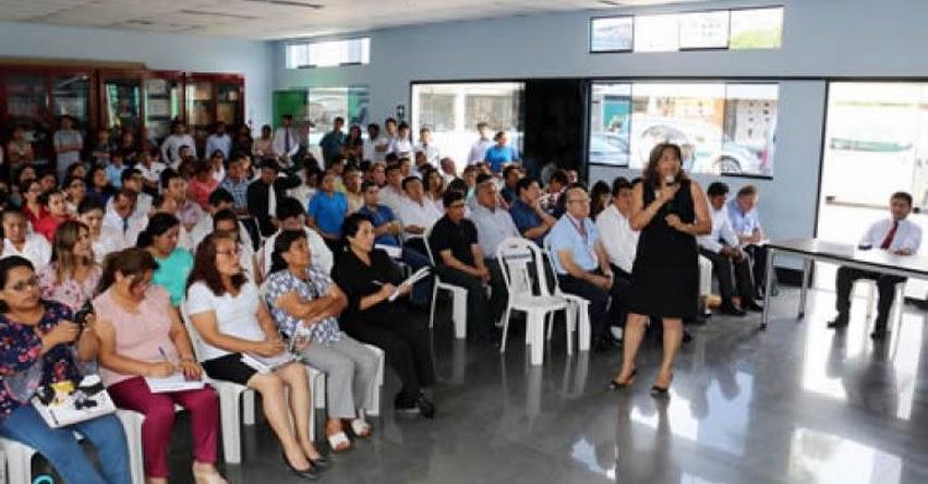 MINEDU impulsa diálogo en las UGEL para promover un buen año escolar 2018 - www.minedu.gob.pe