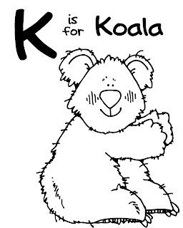 We Love Being Moms!: Letter K (Kangaroo and Koala)
