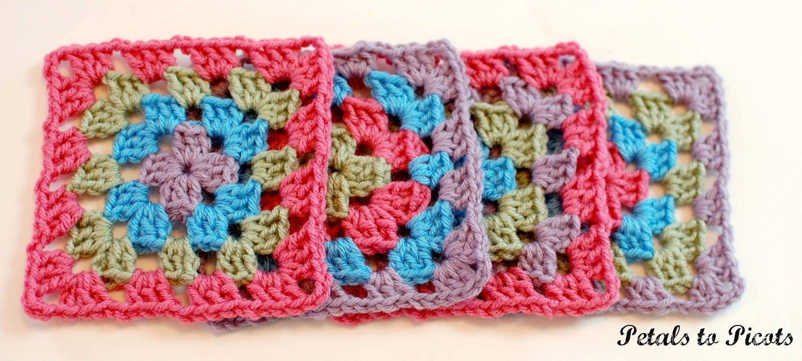 picture regarding Free Printable Crochet Granny Square Patterns titled How towards Crochet a Clic Granny Sq.: Granny Sq.