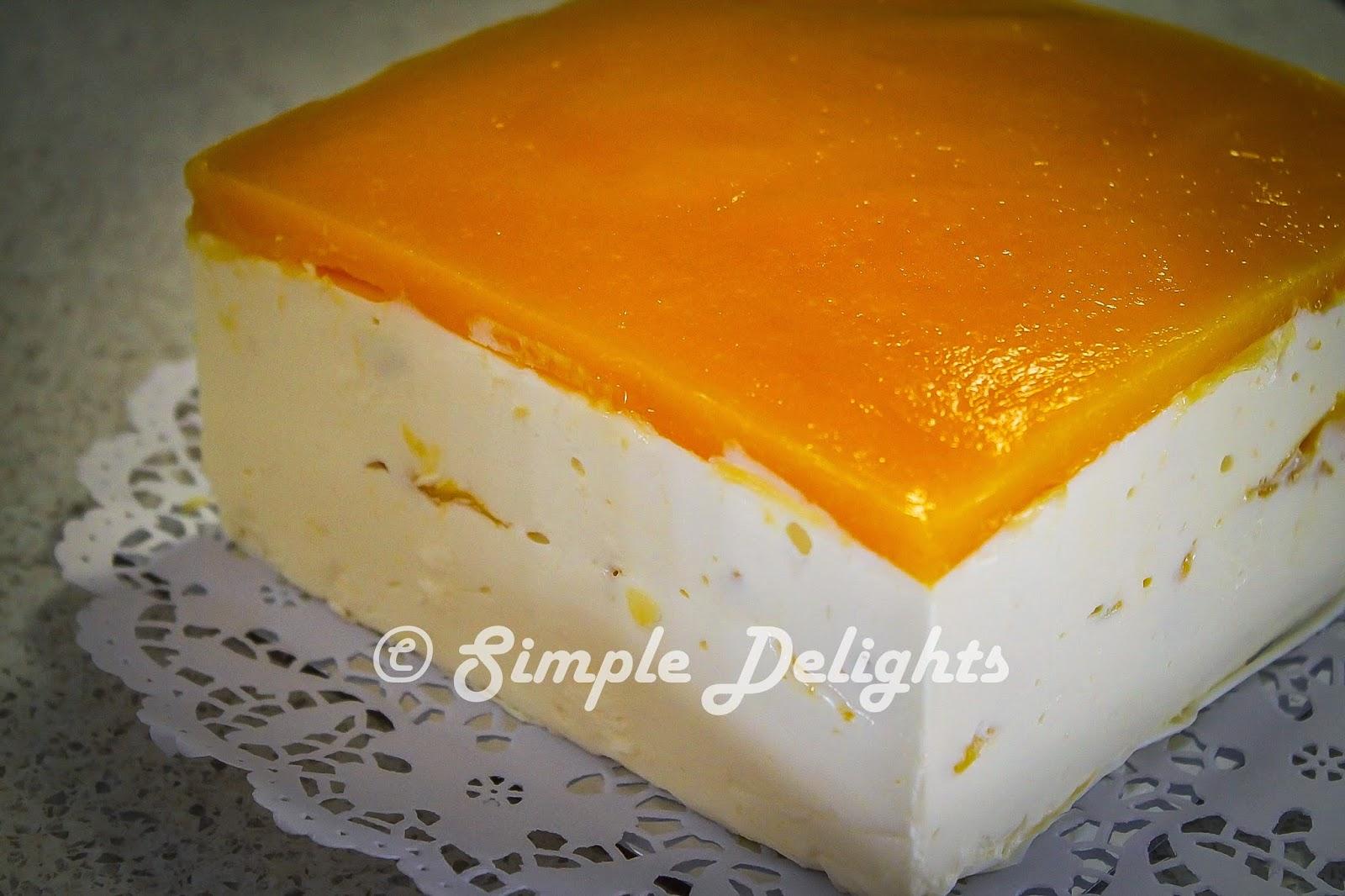Easy Mango Yogurt Cake