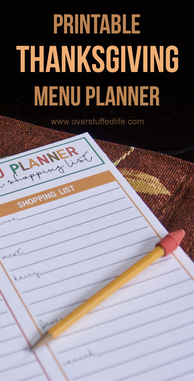 picture regarding Printable Thanksgiving Menu named Absolutely free Printable Thanksgiving Menu Planner and Purchasing Listing