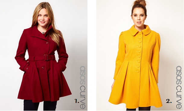 Shapely Shopping Share of the Day: Coats - Shapely Chic ...