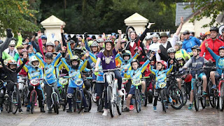 Belfast city bmx club at ciclovia 2017