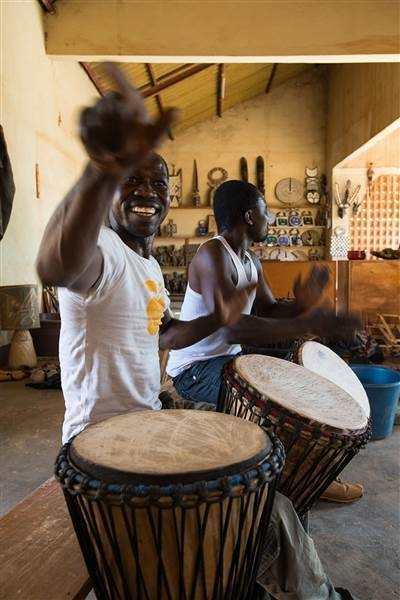 Ouagadougou, Burkina Faso: Relatively unknown country but it's a joy to just hang out and watch life go by here with some great live music. - This Guy's Amazing Photo Album Will Fuel Your Wanderlust… By 0:24 I Wanted To Pack My Bags.