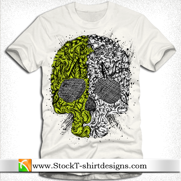 T-shirt Designs Tangkorak - Free Download