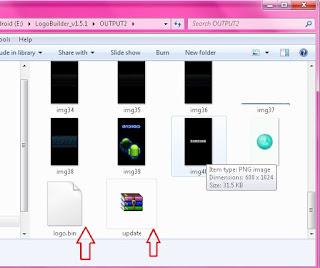 Cara edit dan mengubah logo.bin android