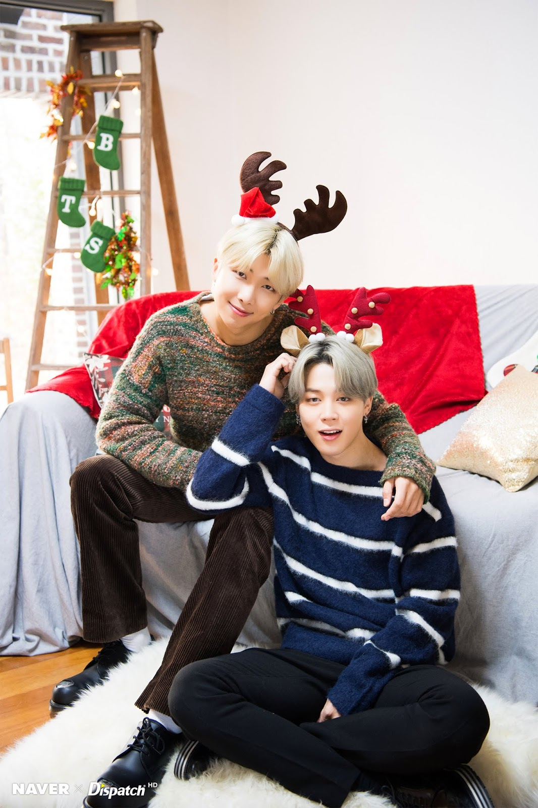 Naver X Dispatch Bts Christmas Special 2019 Photoshoot Circuits Of Fever