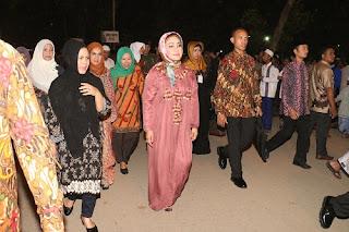 Jokowi Tarawih Di Ponpes At Tauhidiyyah Tegal