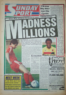 Back page of the Sunday Sport dated 10th May 1987