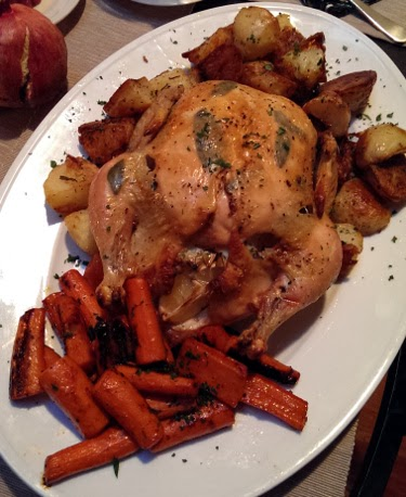 Thanksgiving 2013 roasted chicken