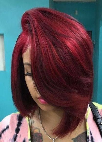 Black Girls Hairstyles Color