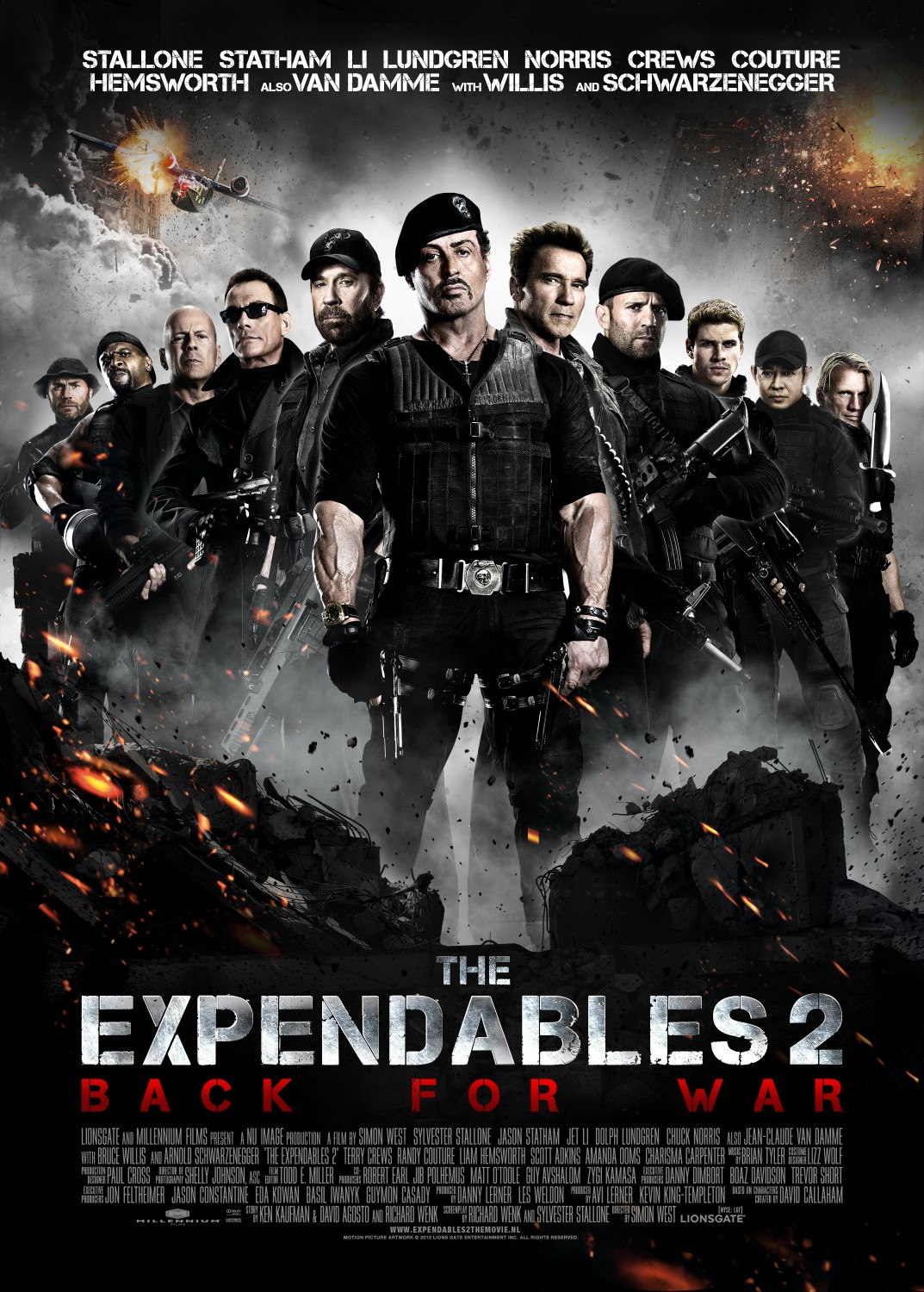 Nonton Film The Expendables 2 (2012)