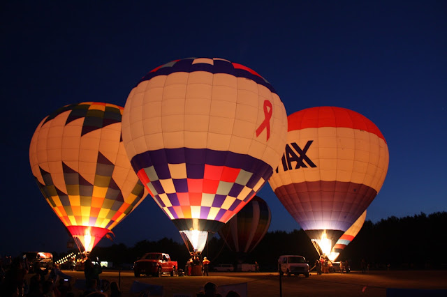 Balloons aglow at Waterford Balloonfest
