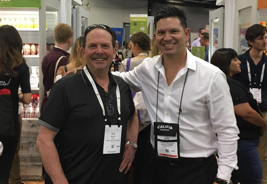 Pete Ellis & Mark Skorheim of Califia Farms at the Natural Products Expo 2017 #ExpoWest