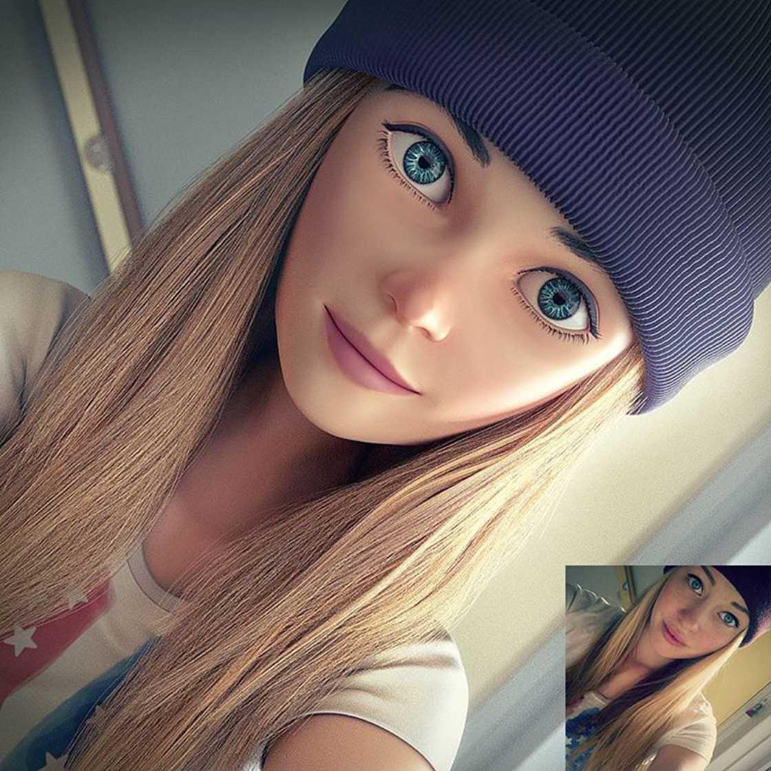 Artista transforma a foto de pessoas comuns em belas fotos 3D ... f9b92239695db