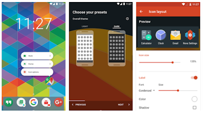 Decription: Download Nova Launcher Paling Ringan Terbaik di Google Play Store 2017